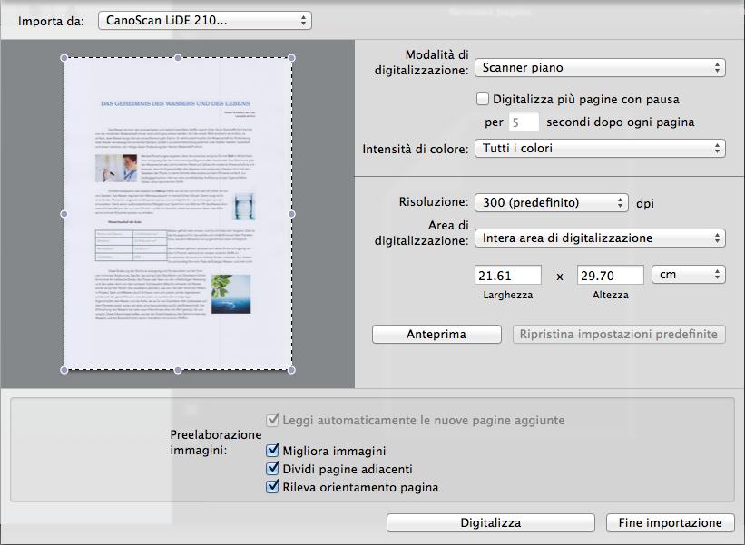 Scannerizzare e convertire istantaneamente i documenti cartacei