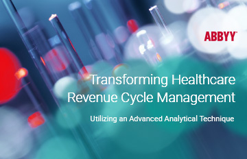 advanced process analytics to improve the revenue cycle | ABBYY eBook
