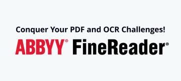 Icon - Supere os seus desafios de PDF com o FineReader PDF