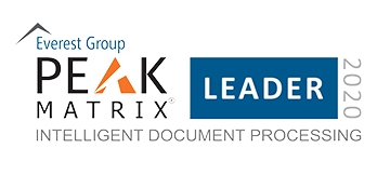 エベレストグループ、Intelligent Document Processing (IDP) Peak Matrix Assessment 2020年