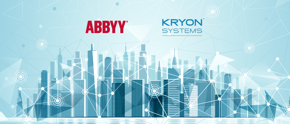 Kryon Systems AI-based solution of choice is ABBYY FlexiCapture | ABBYY Blog Post