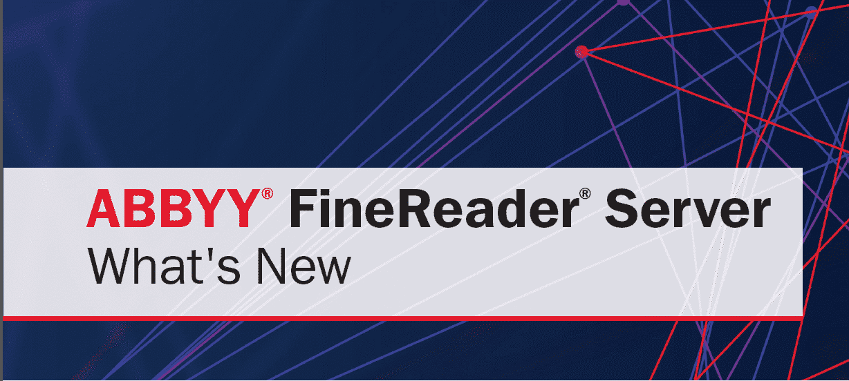 ABBYY FineReader Server 14.2 - ABBYY Blog