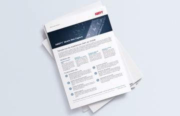 ABBYY Mobile Web Capture brochure