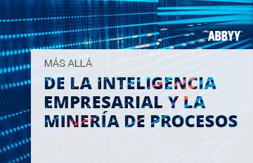 inteligencia empresarial y minería de procesos