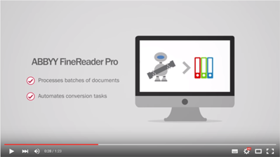 Three Great Reasons To Go With FineReader Pro