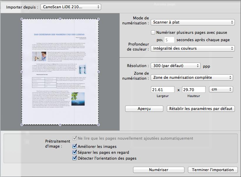 Numérisez des documents papier et convertissez-les instantanément